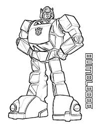 Bumblebee Transformers Coloring Pages 816x1056
