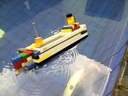 lego cruise ship sinking capsizing youtube