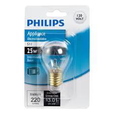 Lava Lamp Bulb Walmart by Philips 416701 Appliance Hi Intensity 25 Watt S11 Intermediate