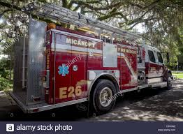 Fire Truck Ladder Usa Stock Photos & Fire Truck Ladder Usa Stock ...