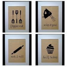 Amazing Design Kitchen Wall Decorations Fancy Pick 4 Decor Sign Art