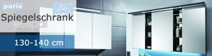 bad spiegelschrank 130 140 cm impulsbad