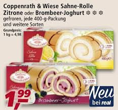 coppenrath wiese sahne rolle zitrone oder brombeer joghurt