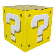 Mario Question Mark Block Lamp by Mario Bros Question Block Money Box Bank
