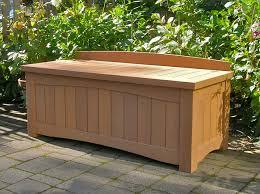 impressive storage bench outdoor diy outdoor storage benches the