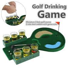 mini golf de bureau bureau mini golf potable bar jeu tasses en verre coup putter