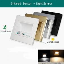 2018 led stair light l motion human induction sensor wall