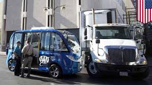 Self-driving Bus Crash: Vegas Launches Driverless Bus, Crashes Two ... Velocity Truck Centers Las Vegas Sells Freightliner Western Star Daimler Debuts Selfdriving Semitruck The Japan Times Driving Lessons In Nv Low Vision Senior Traffic School Online Defensive Drivers Ed By Improv And Driversed Dmv Driving Test Cdl Traing Roadmaster Worst Job Nascar Team Hauler Sporting News Welcome To Nevada Desert Katlaw Georgia Commercial Driver License Ex Truckers Getting Back Into Trucking Need Experience Golden Pacific 141 N Chester Ave Bakersfield