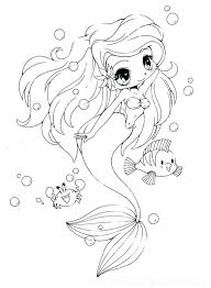 Free Mermaid Coloring Pages To Print The Little Generous Person Letting Melody Printable 2