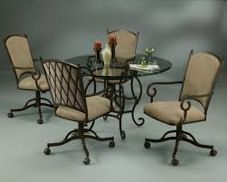 High Quality Dining Room Chairs On Wheels — Jowilfried Tsonga Decor