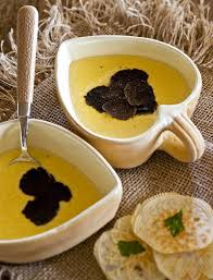 recette cuisine gastro recette de cuisine gastronomique soupe de polenta à la truffe