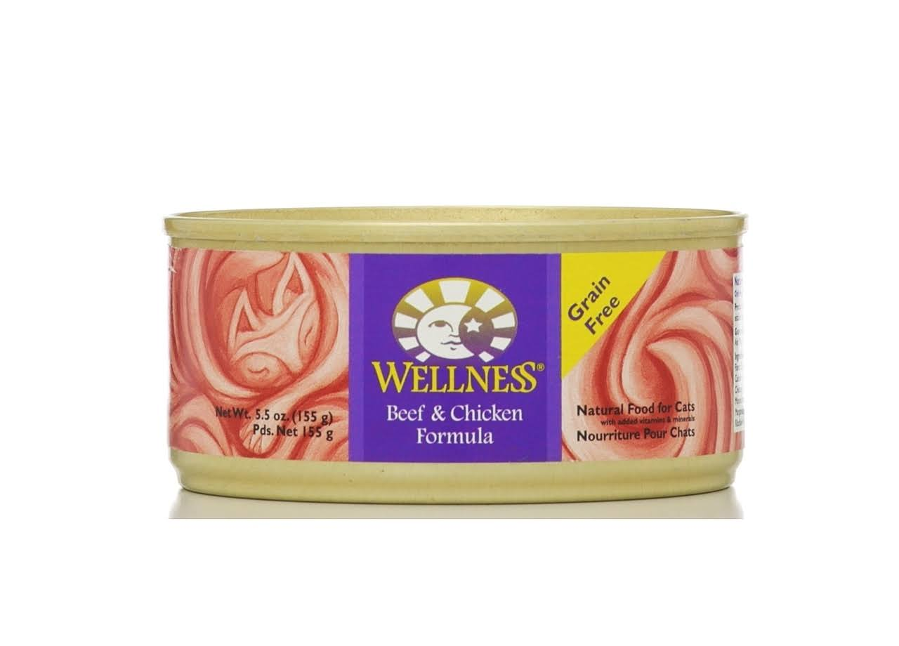 Wellness Complete Health Cat Food - Beef & Chicken