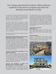 100 Ava Architects Architecture Design UEL Yearbook 2018 By Anastasia