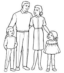 Photograph Families Coloring Pages