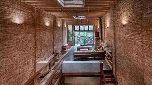100 Brick Ceiling A Manhattan Townhouse With 32Foot S Mansion Global