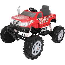 100 Kids Monster Trucks Details About Rollplay Truck Ride On Toy Car Vehicle Rider Battery Operated 24 V