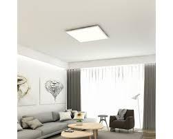 led panel cct dimmbar 36w 3800 lm warmweiß tageslichtweiß hxbxt 48x595x595 mm mit fernbedienung piatto weiß