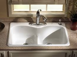 kohler langland smart divide kitchen sink