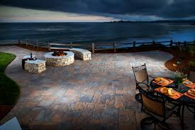 Patio Paver Ideas Houzz by Stamped Concrete Vs Paving Stones Comparison Guide Install It