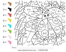 Dinosaur Color By Number With The Legendary T Coloring Page Dinosaur