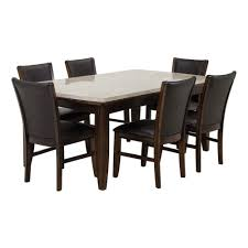 EILEEN 7PC DINING TABLE - 6 CHAIRS Costco Agio 7 Pc High Dning Set With Fire Table 1299 Piece Kitchen Table Set Mascaactorg Ding Room Simple Fniture Of Cheap Table Sets Annis 7pc Chair Fair Price Art Inc American Chapter 7piece Live Edge Whitney Piece Trestle By Liberty At And Appliancemart Intercon Belgium Farmhouse Rustic Kitchen Island Avon Oval Dinette Kitchen Ding Room With 6 Round With Chairs 1211juzxspiderwebco 9 Pc Square Dinette Ding Room 8 Chairs Yolanda Suite Stoke Omaha Grey
