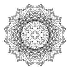 Mandala Decorativa De Diseño 3005 Descargue Gráficos Y