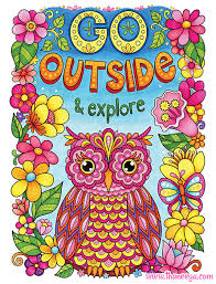 More Good Vibes Coloring Book By Thaneeya McArdle Go Outside And Explore Page