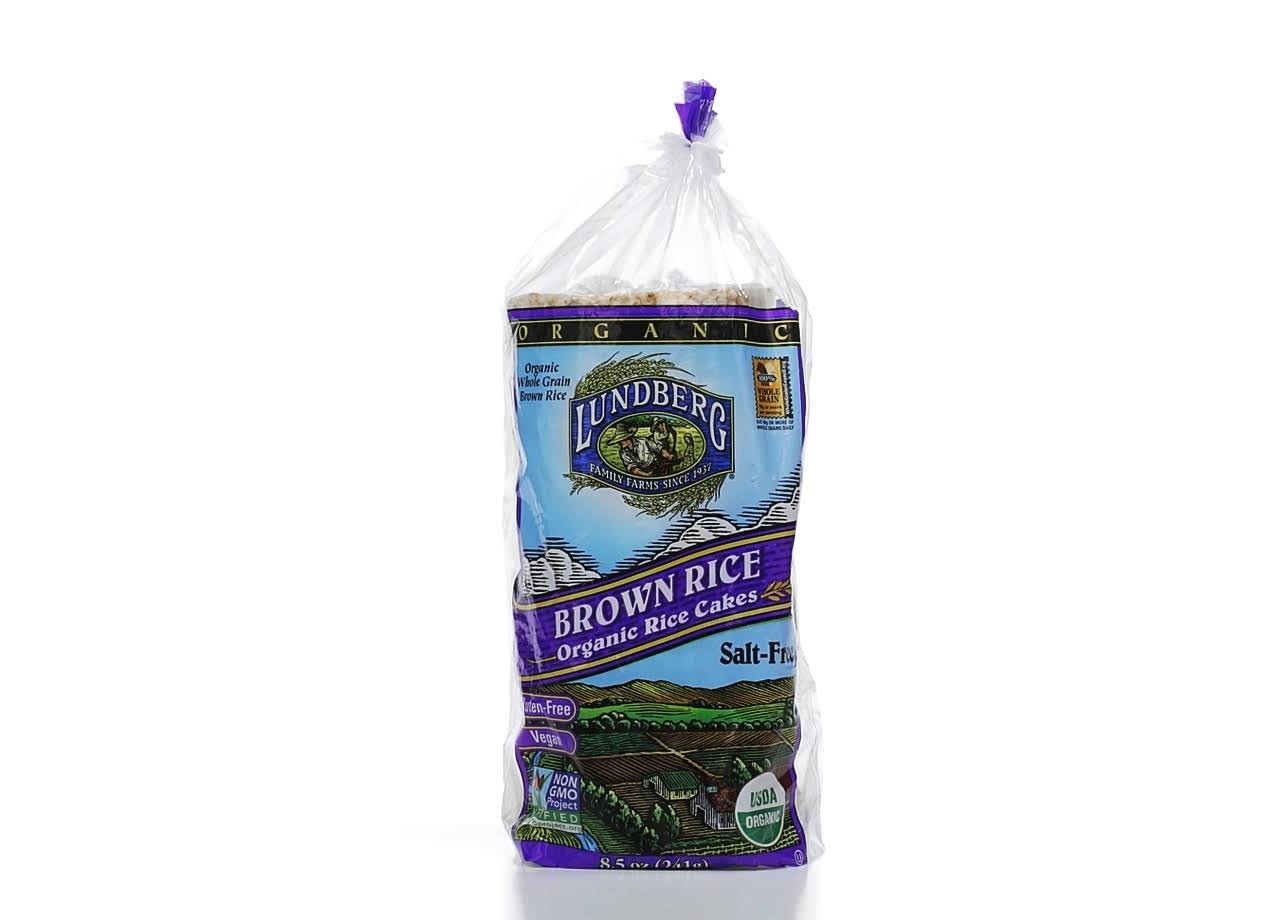 Lundberg Brown Rice Organic Rice Cakes