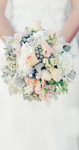 Peach and grey bouquet Wedding Pinterest