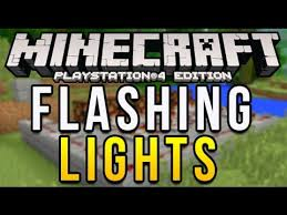 Flashing Redstone Lamp Minecraft by Minecraft Ps4 Flashing Lights Tutorial Redstone Blinking