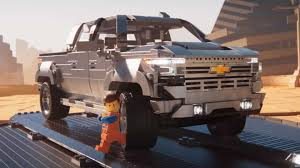 100 How To Make A Lego Truck Chevy Silverado Gets Bricked In Cheeky Movie 2 D
