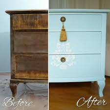 Green Moroccan Cabinet Light Blue Shabby Chic Bedroom Set Dresser Before After