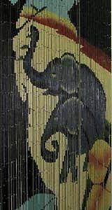 Beaded Curtains For Doorways Ebay by Elephants Bamboo Beaded Curtain Divider Hanging Door Doorway