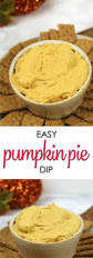Libbys 100 Pure Pumpkin Pie Recipe by Pumpkin Pie Dip It Is A Keeper