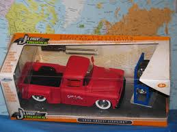 100 Stepside Trucks 124 Jada Just 1955 Chevy Truck 4 X Extra Wheel