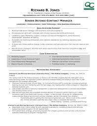Contract Manager Resume 3