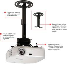 Projector Mount Drop Ceiling Kit by Peerless Prs Exc Adjustable Projector Up To 25 Lbs Ceiling Mount
