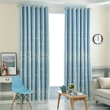 2019 Luxury Window Curtains For Living Room Bedroom Kitchen Floral Style Window Treatments Embroidered Lace Blackout Curtain From Bigmum Price