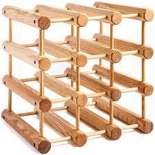 Wooden Ash Modular Wine Rack