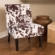 Daniella Milk Cow Slipper Chair In 2019 | Products | Fabric Dining ...