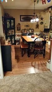 Primitive Kitchen Table Decor