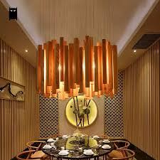 eichenholz droplight kronleuchter kabel leuchte nordic japan hängen deckenleuchte lustre leuchte design home beleuchtung esszimmer