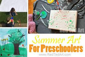 Summer Arts And Crafts For Preschoolers Art Kindergarten So Many Sweet
