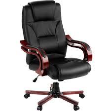 fauteuil de bureau chaise de bureau fauteuil siège de bureau en noir tectake