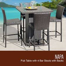 Details About Barbados Pub Table Set W/ Barstools 5 Piece Outdoor Patio  Espresso Details About Barbados Pub Table Set W Barstools 5 Piece Outdoor Patio Espresso High End And Chairs Tablespoon Teaspoon Bar Glamorous Rustic Sets 25 39701 156225 Xmlservingcom Ikayaa Modern 3pcs With 2 Indoor Bistro Amazoncom Tk Classics Venicepubkit4 Venice Lagunapubkit4 Laguna Fniture Awesome Slatted Teak Design With Stool Rattan Bar Sets Video And Photos Madlonsbigbearcom Hospality Rattan Soho Woven Pin By Elizabeth Killian On Deck Wicker Stools