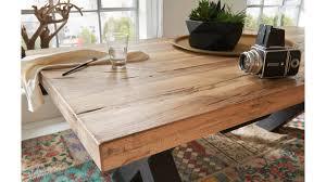 woods trends massivholz esstisch vintage dining