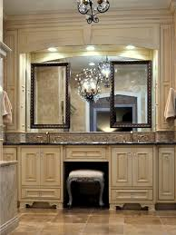 Double Sink Vanity With Dressing Table by Interesting Ideas Double Vanity With Makeup Station Exquisite