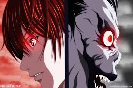Death Note Light and Ryuk by KhalilXPirates