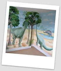 Dinosaurs Kids Wall Painting
