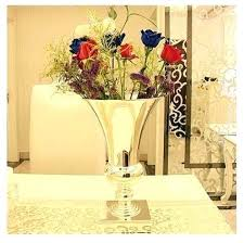 Large Metal Vases Diamete Tabletop Vase Decorative Flowers Tall For Wedding Flower